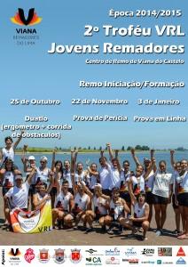Cartaz 2º Trofeu Jovens Remadores VRL