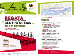 FLYER REGATA INT FUNDO CENTRO DE MAR 2016