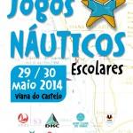 Jogos Náuticos Escolares 2014-Remo no Viana Remadores do Lima-Centro de Remo