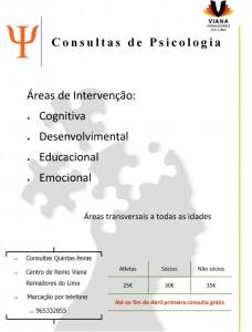 Cartaz psicologia VRL