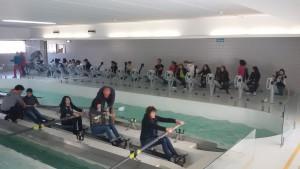Colégio de Vizela em Visita ao Centro de Remo
