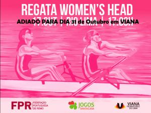 REGATA WOMEN´S HEAD VIANA (6000m, 4x fem) 31 out, 17h _ADIADO DEVIDO AO MAU TEMPO!