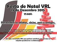 FESTA/CONVÍVIO NATAL 2015-