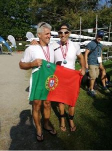 Viana Remadores do Lima medalhado no maior evento Mundial do remo Master 2016