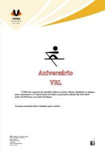 5º ANIVERSÁRIO VRL