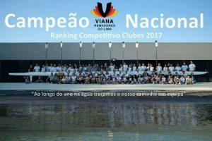 RANKING COMPETITIVO NACIONAL DE CLUBES DE REMO época 2016_2017