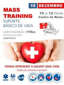 MASS TRAINING EM SUPORTE BÁSICO DE VIDA