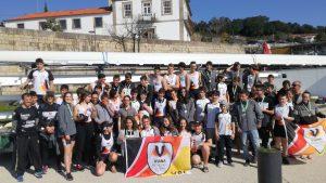 4ª Regata Remo Jovem ARN-Remadores Jovens Vianenses evidenciaram boas remadas no Rio Douro