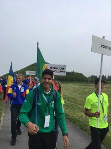 Remador Vianense André Pinto estreia-se, com êxito, no Campeonato Europa Remo Júnior 2018-