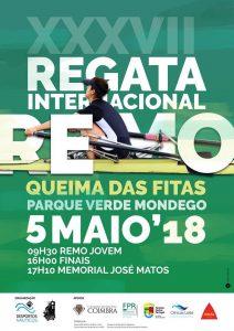 Viana Remadores de Viana encantaram em Coimbra Queima das Fitas 2018
