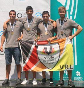 Viana Remadores do Lima sagra-se Vencedor Taça de Portugal Remo Masculino Remo feminino Vice Campeãs Taça de Portugal