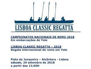 Campeonato Nacional Remo Yolle 2018-