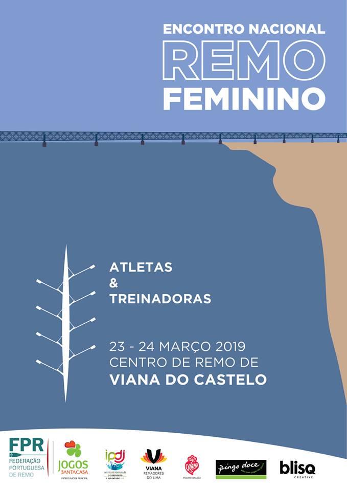 Remadoras Nacionais elegem Viana do Castelo Capital do Remo Feminino
