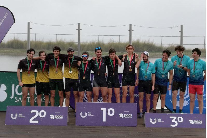 Remo: Campeonato Nacional Universitário (medalhas Vianenses)