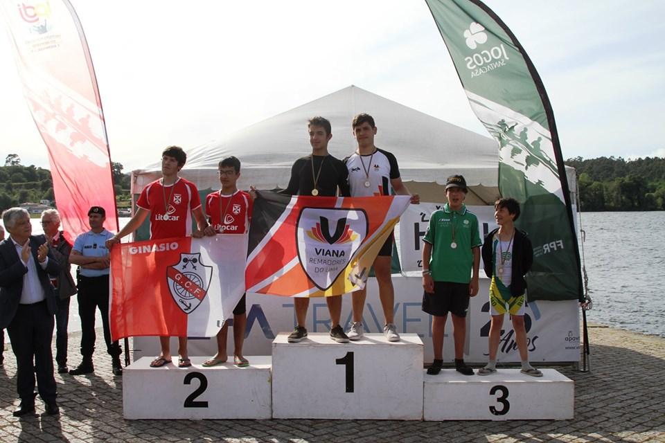 Jovens Remadores Viana Remadores de Viana brilharam na Vila Das Artes-Vila Nova de Cerveira