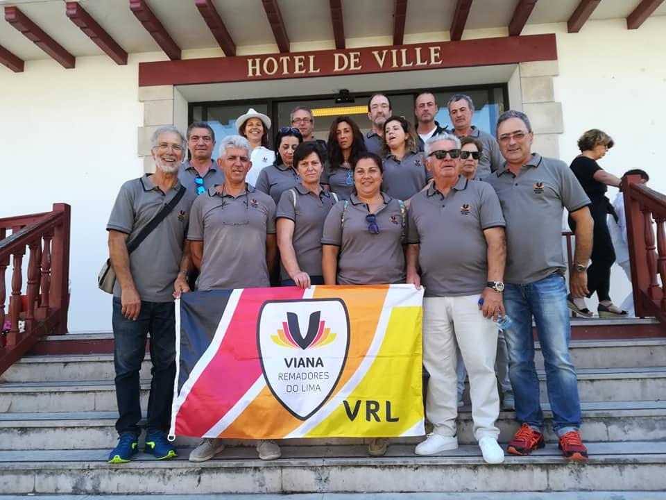 Grupo LAZER do VRL esteve em Hendaye na comemoração dos 20 anos da geminação com Viana do Castelo