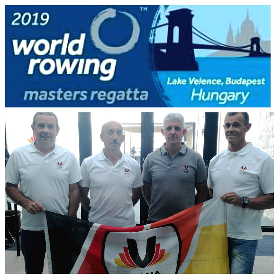Masters do VRL no World Rowing Master Regatta 2019 Budapeste