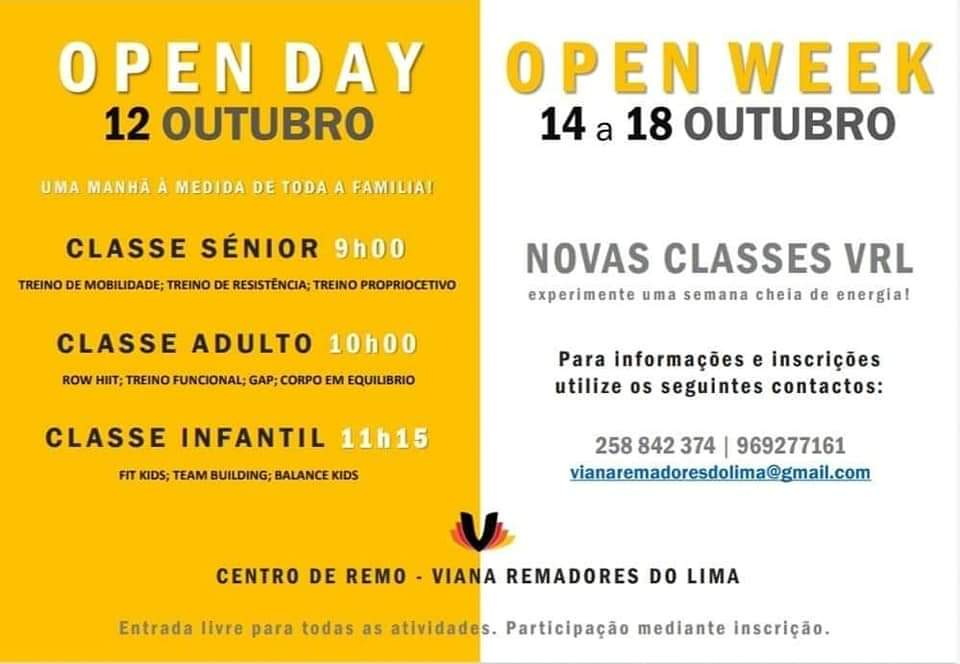 OPEN DAY ////// OPEN WEEK