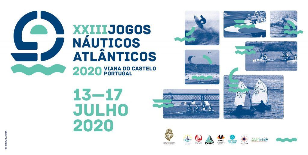 Jogos Náuticos 2020 que irão decorrer na nossa Cidade.